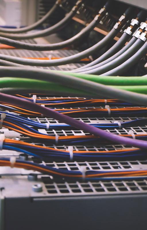 GBM fotografía de sección servicios costrucción de armarios de control