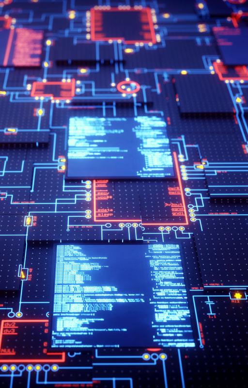 GBM fotografía de sección servicios diseño de circuitos electrónicos